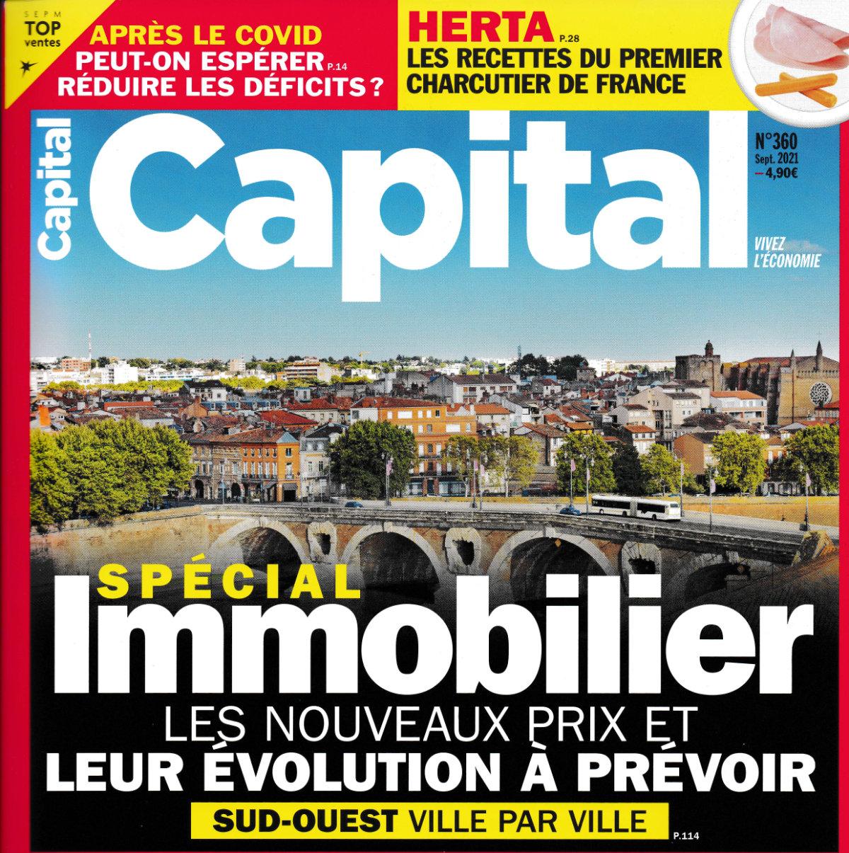 Couverture magazine CAPITAL